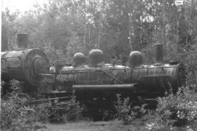 Locomotives at the Tramway Site (1978)