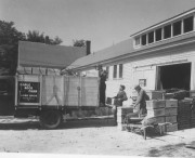 Shipping Apples in Acton (George French Collection, Maine State Archives)