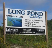 Sign: Long Pond Estates (2012)