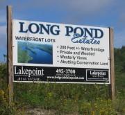 Sign: Long Pond Estates (2012)