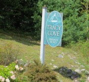 Sign: Tracy Cove, Private Road (2012)