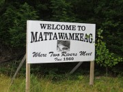 sign: Welcome to Mattawamkeag (2012)