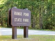 sign: Range Pond State Park (2012)