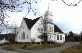 Union Congregational Church, North Street, Ellsworth Falls (2013)