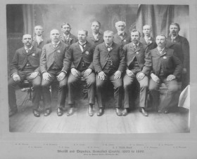 Somerset County Sheriff and Deputies 1893-1899