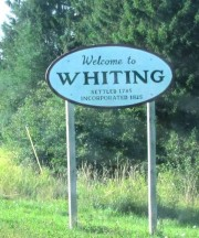 Sign: Welcome to Whiting (2011)
