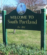 Sign: Welcome to South Portland (2012)