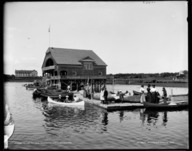 An Old Clubhouse (c. 1890-1901)