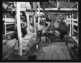 Poker in Camp (c. 1943)