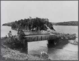 Orrs Island Bridge (c. 1905)