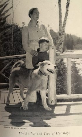 "Rich and Two of her ""Boys"" (c. 1940)"