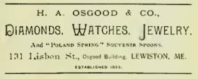 H.A. Osgood advertisement (1894)