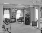 The Blaine House interior c. 1955, from the Maine State Archives