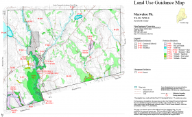 Macwahoc Plantation LURC Land Use Guidance Map August 2004