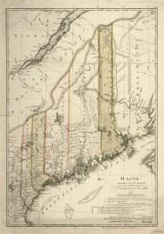 Map of Maine 1798