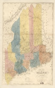 Maine Counties 1840