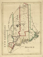 Perkins Map of Maine 182-?
