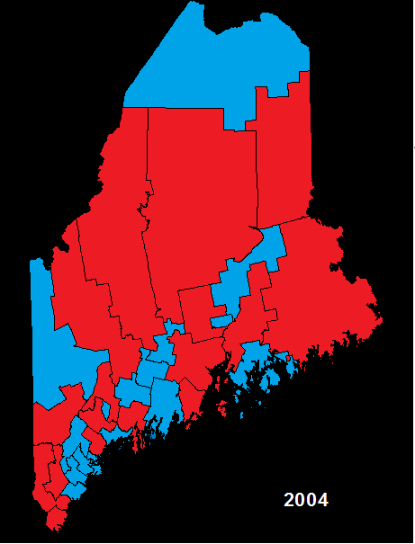 Political Parties By State Map.Legislature Senate Party Balance Maine An Encyclopedia
