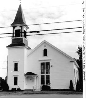 Former Milo Free Will Baptist Church (2000)