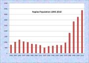 Naples Population Chart 1840-2000