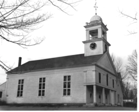 New Gloucester First Congregational Church and Vestry (1974)