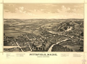 Pittsfield Birdseye View 1889