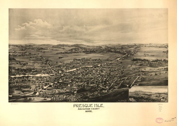 Presque Isle Birdseye View 1894