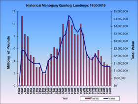 Quahog Landings 1984-2016