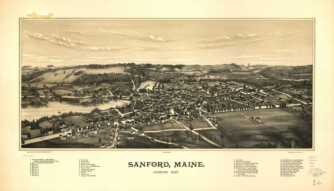 Excellent Sanford Maine An Encyclopedia Download Free Architecture Designs Viewormadebymaigaardcom