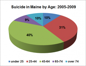 Suicide by Age 2005 -2009