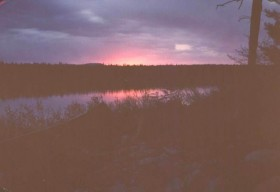 Sunset in Spectacle Pond (1990)