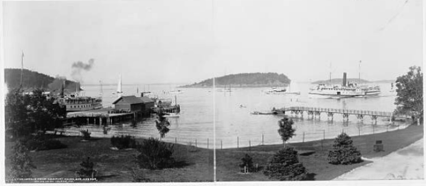 The Harbor from Newport House (c. 1901)