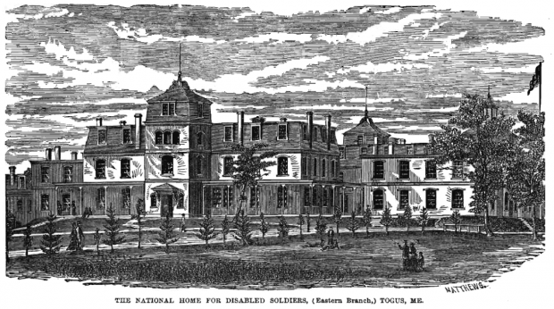 National Home for Disabled Soldiers (Eastern Branch) c. 1880