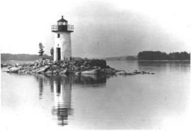 Cobbossee Lighthouse (1983)