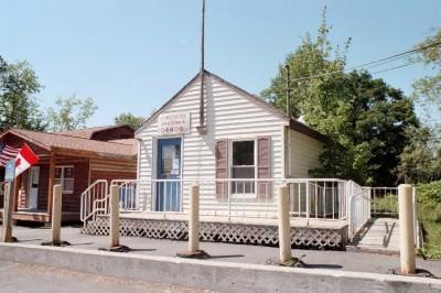 U. S. Post Office in Abbot Village (2002)