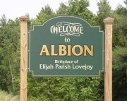 Welcome to Albion Sign
