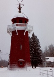 The Bailey Farm Windmill in North Anson (2001)