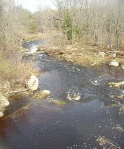 Hemlock Stream as it crosses Route 116 in Argyle (2005)