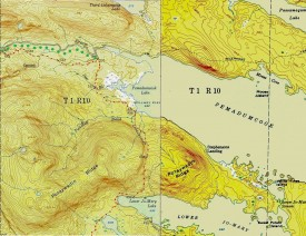 1952/1949 Topographic Map of T1 R10 WELS