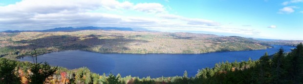 Nahmakanta Lake from the Appalachian Trail