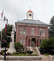 The Androscoggin County Building in Auburn