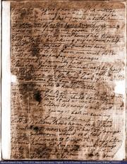 Photo: Martha Ballard's Diary, page 1