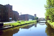 Canal and Bates Mill Building (2001)