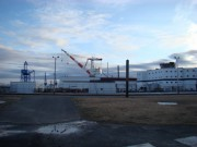 Photo: Cranes and Buildings at BIW (2010)