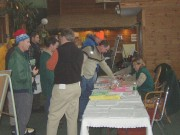 Prospective Campers Await Their Turns, January, 2004
