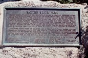 Photo: Plaque, at Chimney Pond, Commemorating Baxter's Gift of the Park (2001)