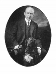 Governor (1921) Percival Baxter and his dog Gary