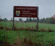 sign: Sunkhaze Meadows, National Wildlife Refuge, Benton Division (2006)