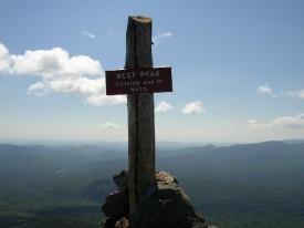West Peak on Bigelow Mountain (2003)