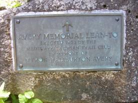 Memorial to Myron Avery